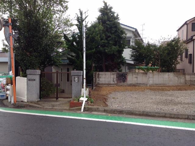 岡沢町 木造建物 解体工事before